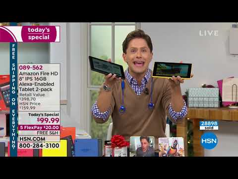 HSN | Electronic Gifts featuring Amazon 11.10.2018 - 12 PM