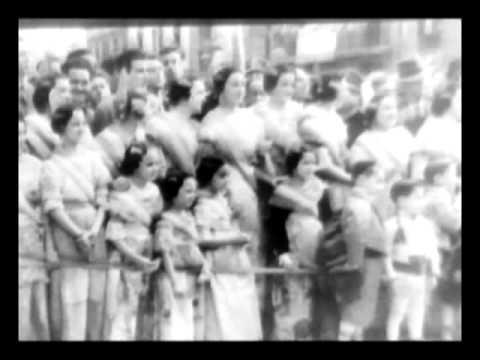 Cancer Drive; I'm An American Day; Las Fallas fiesta, Valencia1947/5/19