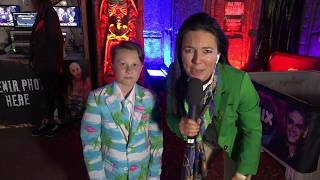 2019 Royal Show TV - MIX 102.3 Jodie & Soda's Haunted House tour featuring Mater Vandeleur