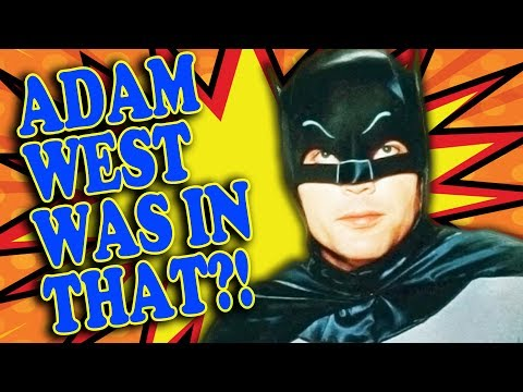 Top 10 ADAM WEST Movies You Didn't See! - He's Not Just Batman!
