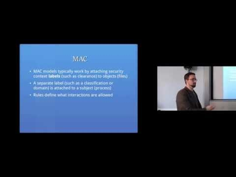 Access Controls Part 1: Computer Security Lectures 2014/15 S2