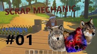 Scrap Mechanic Let´s Play [R01E01] - Erklärbär Sven  [German] [Deutsch]