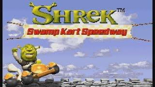 Game Boy Advance Longplay [015] Shrek: Swamp Kart Speedway