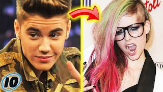 Gambar cover Top 10 Celebrities That You Didn't Know Were Related