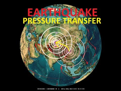 8/08/2017 -- EQ ALERT : 2nd Large Earthquake strikes China - EQ pressure transfer PROVED