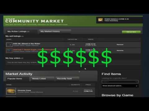 How to Make Easy Money in the Steam Market