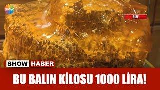 Bu balın kilosu 1000 lira!