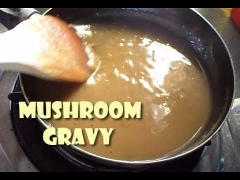 Easy Mushroom Gravy (For Sizzling Steaks, Pork Chops And More)