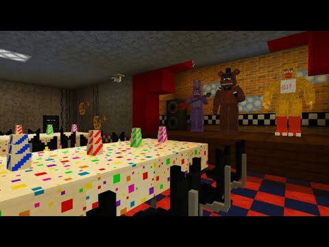 REAL FIVE NIGHTS AT FREDDYS PIZZERIA MOD in Minecraft PE