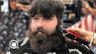 Baixar First Haircut & Beard Trim in Months Transformation | The Dapper Den Barbershop