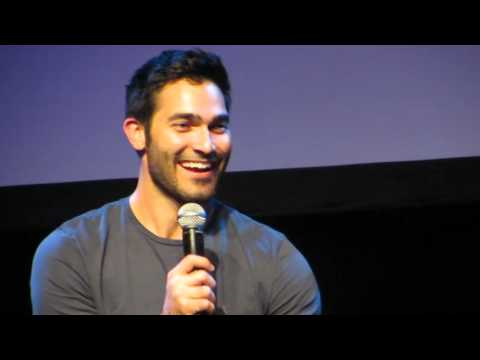 If you'd get a tattoo, what would it be? Tyler Hoechlin @ Werewolfcon