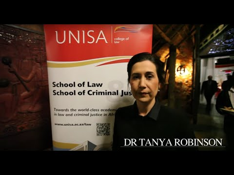 Dr Tanya M Robinson | UNISA College of Law | Conference 22 July 2015