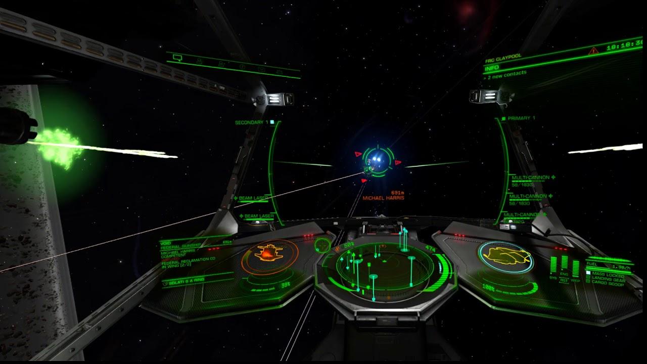 Elite Beyond Chapter 2: Testing out the Krait MK 2