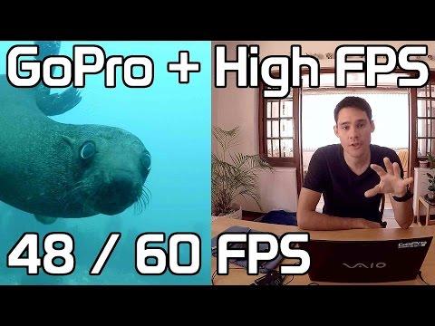 48fps 60fps GoPro High Frame Rate | High FPS |Tutorial