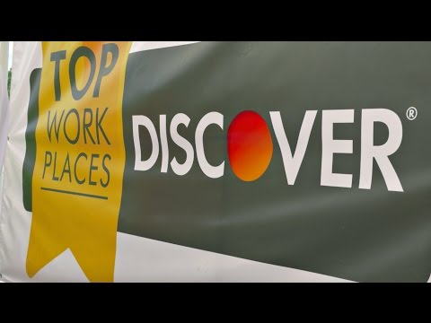 """I love my job and I love Discover"""