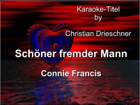 Schöner fremder Mann - Connie Francis - Karaoke