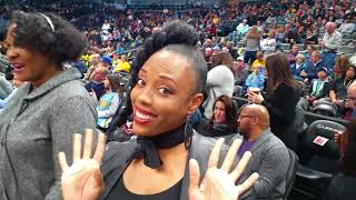 Cicely O'kain sings National Anthem @ Pepsi Center (Nuggets vs Grizzlies)