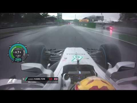Lewis Hamilton's Record-Breaking Pole Lap | 2017 Italian Grand Prix