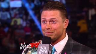 Chaos erupts when Intercontinental Champion The Miz hosts Kofi King...