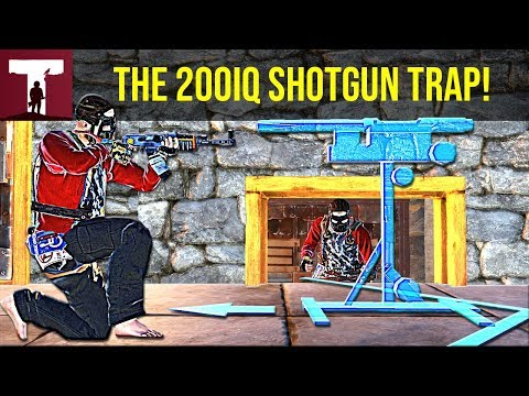 THE SHOTGUN TRAP PLAY THAT MADE ME RICH! (Rust Solo) - Rust