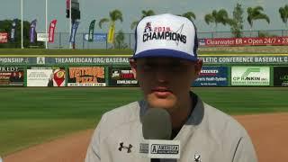 American Baseball Championship - Cincinnati's David Holding & Wyatt Stapp Postgame