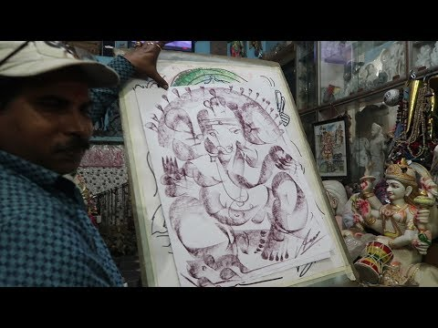 Discovered an artist in Varanasi | Banaras 3.0 |