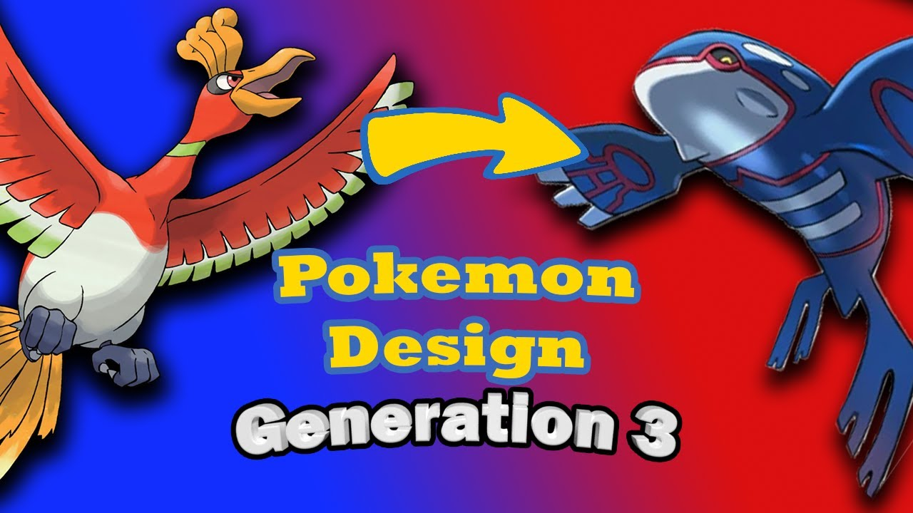 Evolution Of Pokemon Designs — Generation 3 | by Caleb Compton