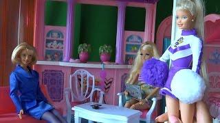 Мама Барби, Джесика очень не довольна Челси и за нее переживает, Сериал с куклами Барби, серия 374