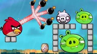 Boom Bad Piggies - SKILL GAMEPLAY BLASTING PIGGIES WITH TNT BOMB!