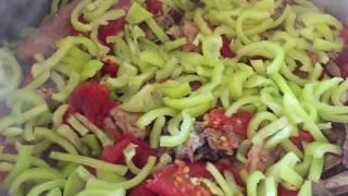 ХАШЛАМА.Летняя Хашлама Из Молодой Барашки С Овощами
