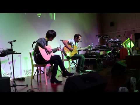 U2 With Or Without You   Sungha Jung & Trace Bundy