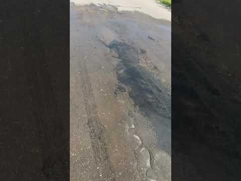 Про наши дороги Смоленская область город Рудня