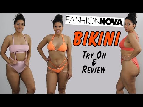 Curvy Girl Fashion Nova Bikini Haul Tryon and Review. http://bit.ly/2Xc4EMY