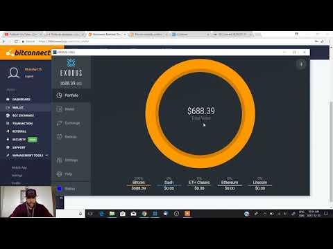 Bitconnect, Comment sortir vos profits $$$