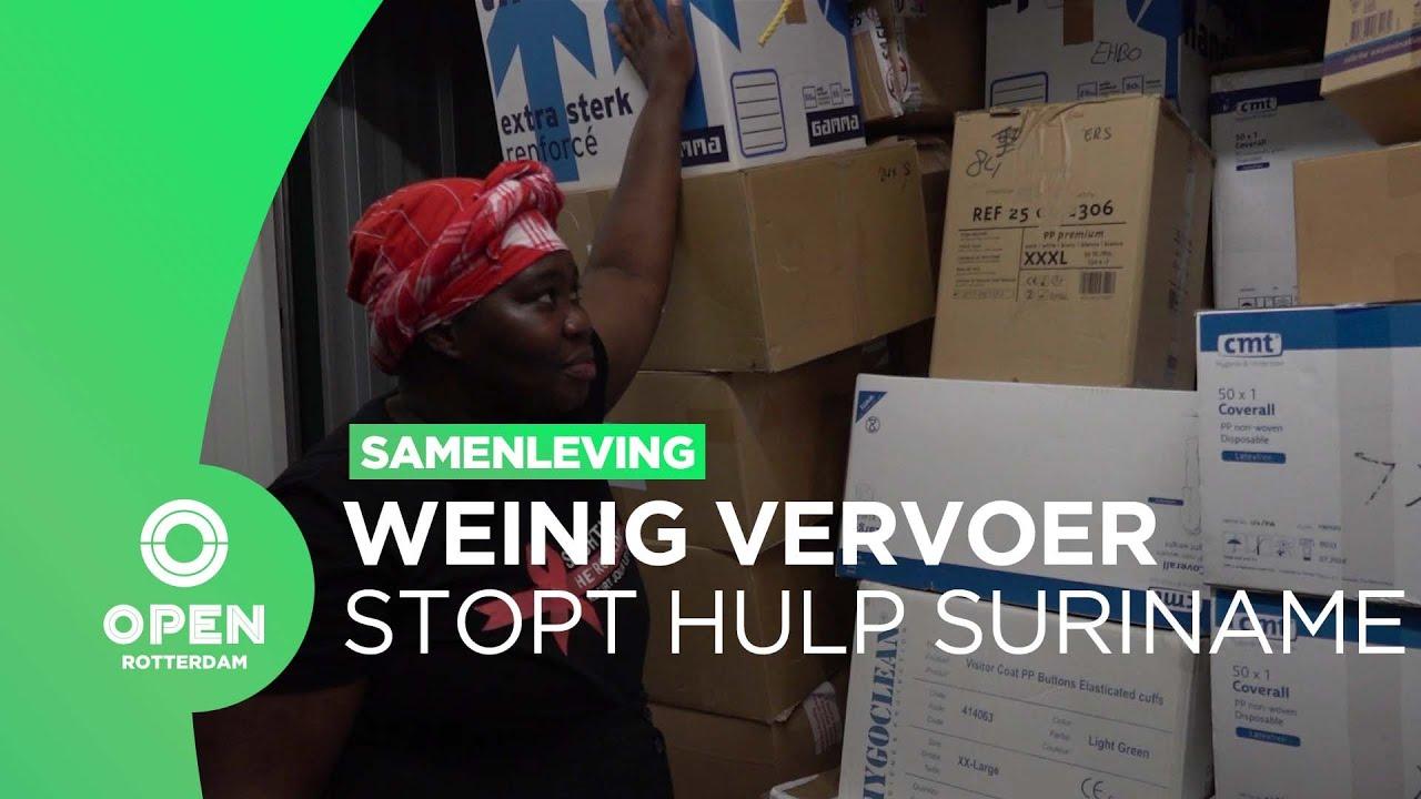 Download Rotterdamse coronahulp voor Suriname staat stil door gebrek aan vervoer   TRENDING