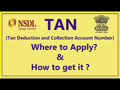 How To Apply For  Tan Number Online Application  | Tan Number Kya Hota Hai Aur Tan Kaise Apply Kare