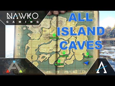 ark the center höhlen