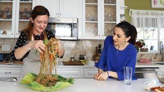 Չափչէ - Chapchae - Անուշի Բաղադրատոմսը - Կորեական Խոհանոց - Հեղինե - Heghineh Cooking Vlog #48