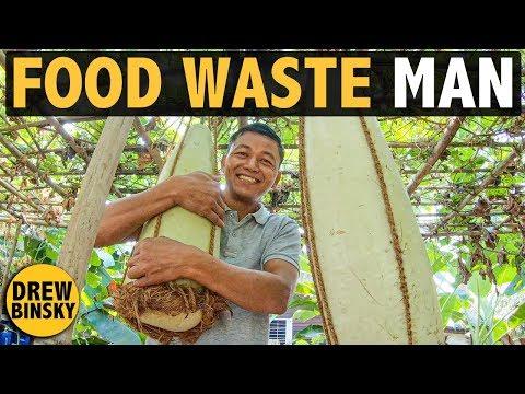 The FOOD WASTE MAN (Myanmar)