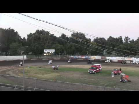 Dahne Lynn McKay 8/24/12 Restricted Heat Race Plaza Park Raceway Visalia
