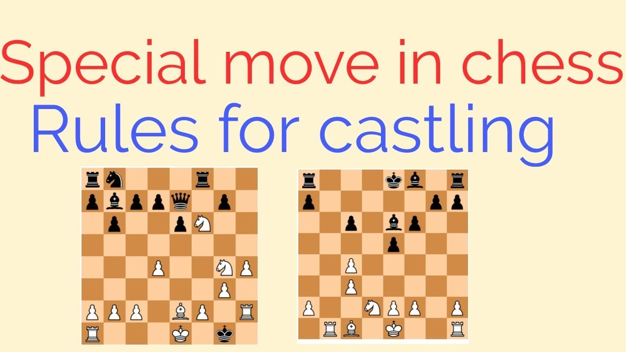 Castling rules in chess - YouTube
