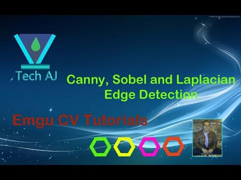 Emgu CV #4: Edge Detection : Canny Sobel Laplacian edge dete