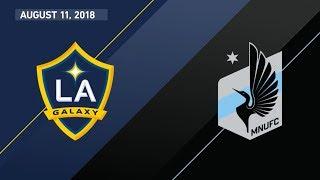 HIGHLIGHTS: LA Galaxy vs. Minnesota United FC | August 11, 2018