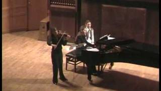 Anton von Webern-Four Pieces op.7.Elena Revich&Polina Osetinskaya.