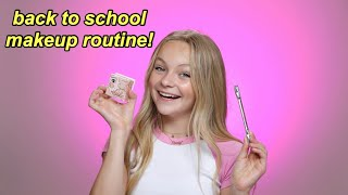 my quick back to school makeup routine! | Pressley Hosbach