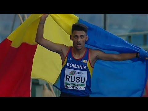10000m Men FINAL U20 CHAMPIONSHIPS - GROSSETO 2017