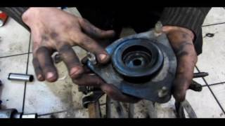 Замена переднего амортизатора Mitsubishi Lancer X
