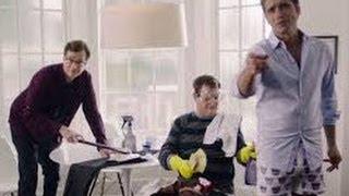 full house cast gma reunion john stamos dannon super bowl ad drops his pant gma