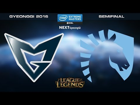 LoL - SSG vs. Team Liquid - Semifinal [Game 1] - IEM Gyeonggi 2016