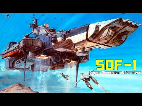 SDF-1 Macross Class Super Dimensional Fortress Breakdown